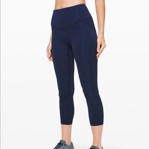 Lululemon's all the right places crop II LEGGINGS
